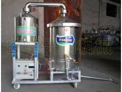 电加热生料酿酒机双层锅底蒸酒设备