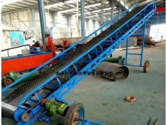 粮食移动式皮带输送机 爬坡式皮带运输机 供应电动升降皮带机