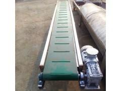 不锈钢食品输送机供应 裙边格挡流水线食品输送机厂家