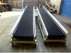 供应食品输送机小型传送带 皮带式不锈钢输送上料机