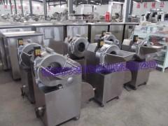 竹笋自动切丁机 全钢型果蔬切丁设备