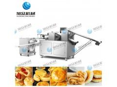 小本创业旭众二道擀面酥饼机 云南鲜花饼机 酥饼机生产线