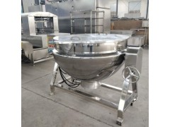不锈钢夹层锅 可倾燃气蒸煮锅 规格齐全