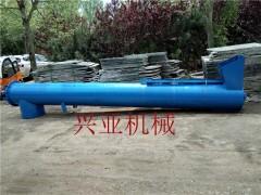 TL28加厚耐磨螺旋输送机 275管径沙子螺旋提升机生产厂家