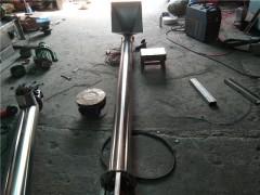 TL管径移动螺旋输送机 散白糖304不锈钢螺旋式提升机