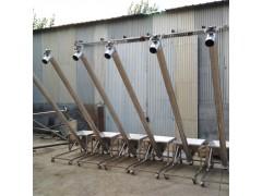 兴亚倾斜螺旋输送机提供 定做管式小型移动式螺旋提升机