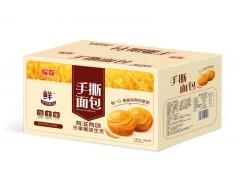 手撕面包 蛋糕厂家河南君凡食品奶香原味手撕面包震撼招商
