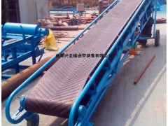 小型碳钢骨架皮带输送机移动式 粮食装卸车传送机输送机