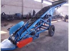 DY皮带输送机 粮食上料传送机 袋装包粮装车传送机 省时省力