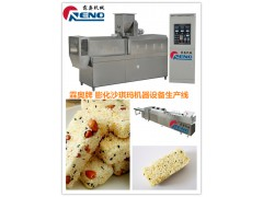 沙琪玛膨化机设备 膨化沙琪玛设备