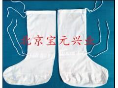 软底防蚤袜、硬底防蚤袜 白棉布防蚤袜