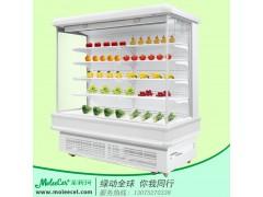 冰柜价格2米欧款内机风幕柜水果保鲜柜厂家品牌直销