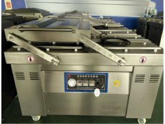 供应豆干四封条高产量真空包装机机械生产厂家