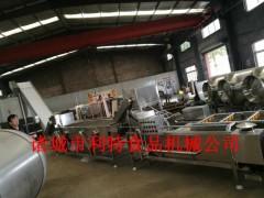 红豆浸泡清洗机 豆沙加工生产线 豆类罐头加工设备