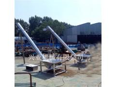 食品厂用面粉不锈钢螺旋输送机 倾斜管式螺旋给料机供应