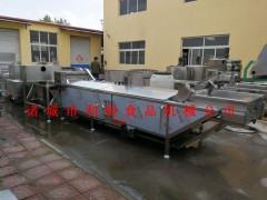 全自动小龙虾清洗机 龙虾清洗蒸煮生产线 龙虾深加工设备