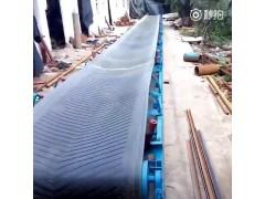 爬坡式木屑装车输送机  支腿固定式皮带运输机