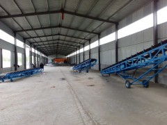 600mm移动升降式运输机  伸缩式货物搬运输送机