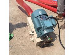 小型装三轮软管送料机  收麦用车载上料机