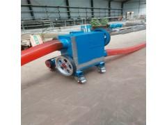 加移动轮软管抽料机 加长管水泥粉输送机