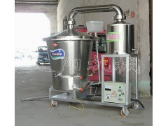 电加热生料酿酒机纯粮蒸酒工艺