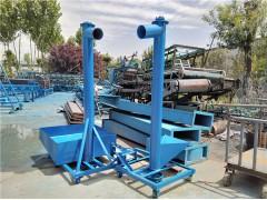 108管径螺旋输送机5米长螺旋输送机不锈钢管式螺旋提升机