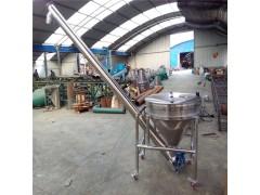 304材质自动化上料提升机 倾斜螺杆送料机