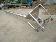 316材质螺旋提升机  强氧化剂不锈钢上料机