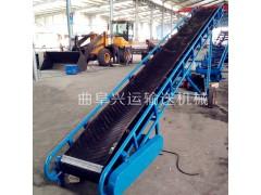 伸缩式升降皮带输送机 升降式输送机  电滚筒动力移动送货机