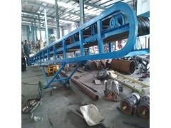 650mm宽装粮皮带运输机 麻袋装车用升降输送机