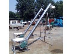 混凝土钢管提升机 倾斜式螺旋提升机定制