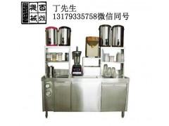 淮安奶茶店全套设备_奶茶操作台销售点
