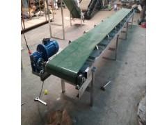 隔挡式爬坡式送料机 铝型材食品带输送机