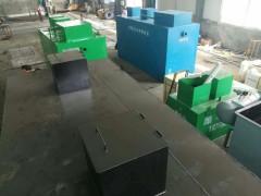 生活污水处理设备现场设计
