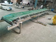 304不绣钢槽式u型螺旋输送机 PVC食品级皮带输送机供应