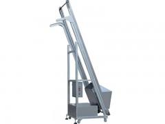兴亚移动式单斗提升机生产厂家 洗衣粉垂直输送提升机供应