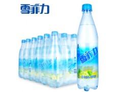 盐汽水代理商雪菲力盐汽水价格柠檬味盐汽水600ml*24/箱