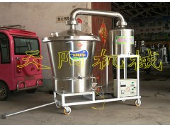100型生料酿酒机电气两用烧酒机