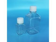 晶安生物方形血清瓶 无菌培养基方瓶带刻度 pete耐低温储存