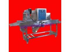 肉片自动铺糠机 多用途肉制品挂糠设备