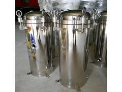 优质1号2号304不锈钢大型工业污水处理柴油精密布袋式过滤器