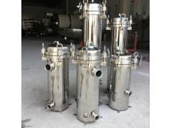 优质2号吊环304不锈钢大工业污水处理柴油精密布袋式过滤器