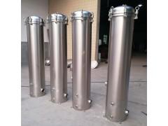 2号袋式过滤器大流量精密布袋304不锈钢水处理自来水净水机器