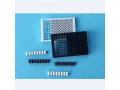 晶安生物96孔黑色可拆卸酶标板 96孔白色可拆卸酶标板带框