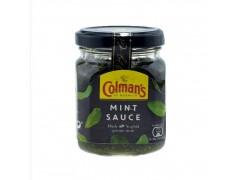 原装进口英国Colmans 考曼薄荷酱