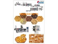 早餐谷物玉米片设备 多力多滋三角片机器