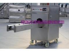 单带式洋葱切根机器 QG型小球葱去根设备