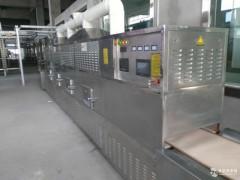 花生米烘烤设备,微波隧道花生烘烤设备