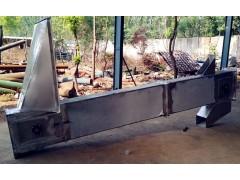 面粉不锈钢斗式提升机定做大料斗垂直提升机 兴亚定做厂家