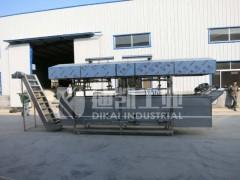 无锡油面筋油炸机 面筋油炸生产设备